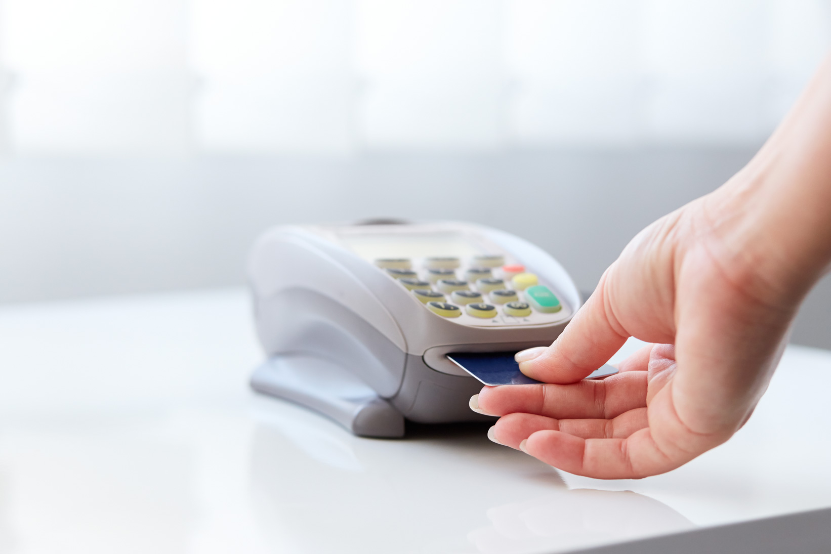The debit card